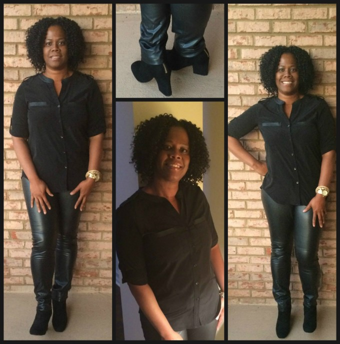 Blogger Style: Faux Leather!